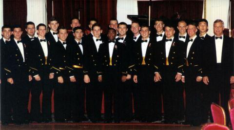 Idlers Promo Shot: USO Benefit, fall 1996